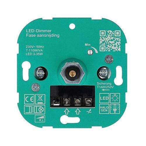 L+R TRIAC dimmer voor 230v LED Lampen fase aansnijding
