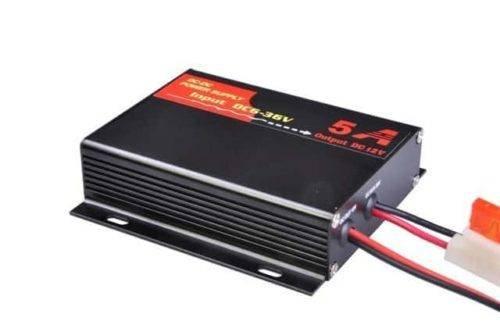 12 Volt stabilisator, DC/DC Converter, 6V-36V naar 12 Volt