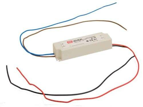 LED voeding - 24V 35W - Meanwell