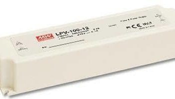 LED voeding - 12V 100W - Meanwell