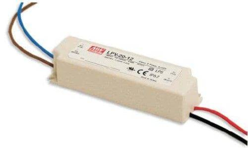 LED voeding IP67 - Meanwell - 12V 20W