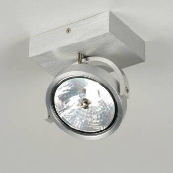 Ar111 LED plafond/wand alu armatuur