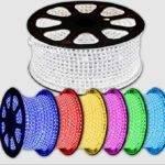 RGB LED strip 230v 50m IP68