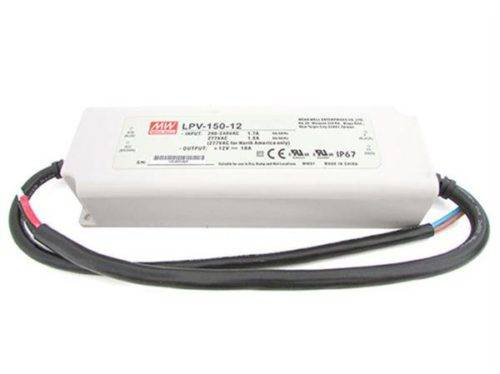 LED voeding Meanwell 12v 150w IP67