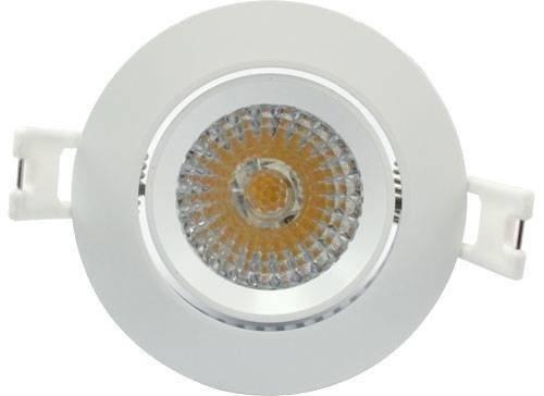 LED inbouw spot 6W dimbaar Warm-wit
