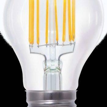 E27 filament LED lamp 8W dimbaar Segula