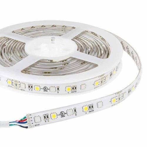 RGBW LED strip 12v 5m 300smd 5050 led's