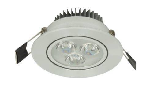 LED inbouwspot - downlight 3W Warm-wit